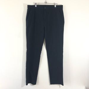 Kenneth Cole Reaction 36x34 Black Chino Pants